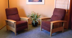Therapy chairs - Portland Mindfulness Therapy